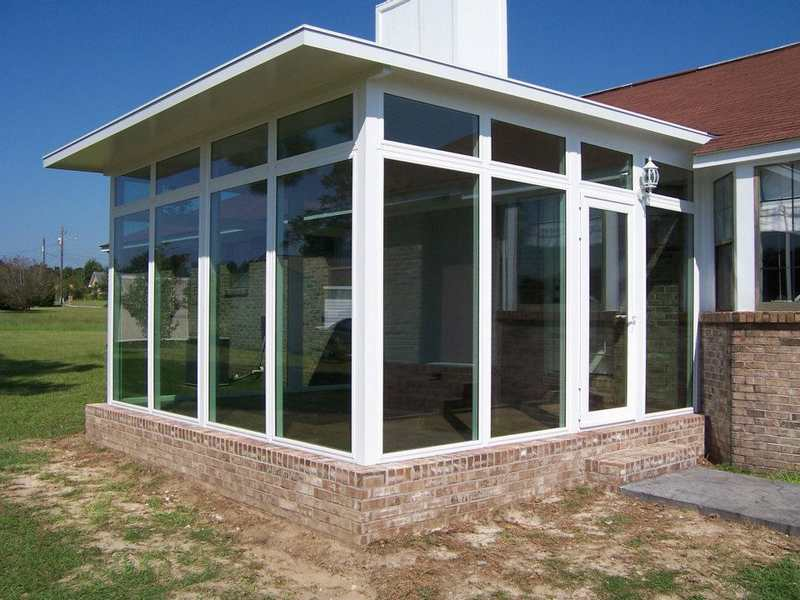 Sunrooms patio enclosures serving dothan the wiregrass for Backyard sunroom